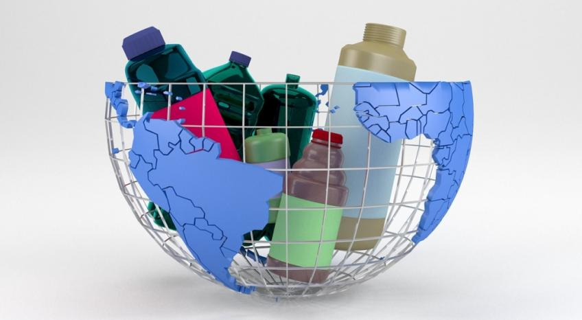 Packaging with recycled plastic takes us into the future